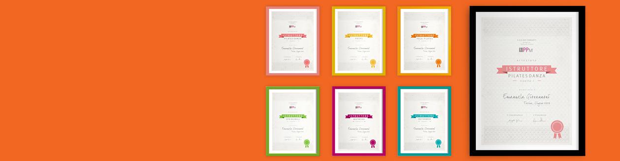 Certificate ใบประกาศ
